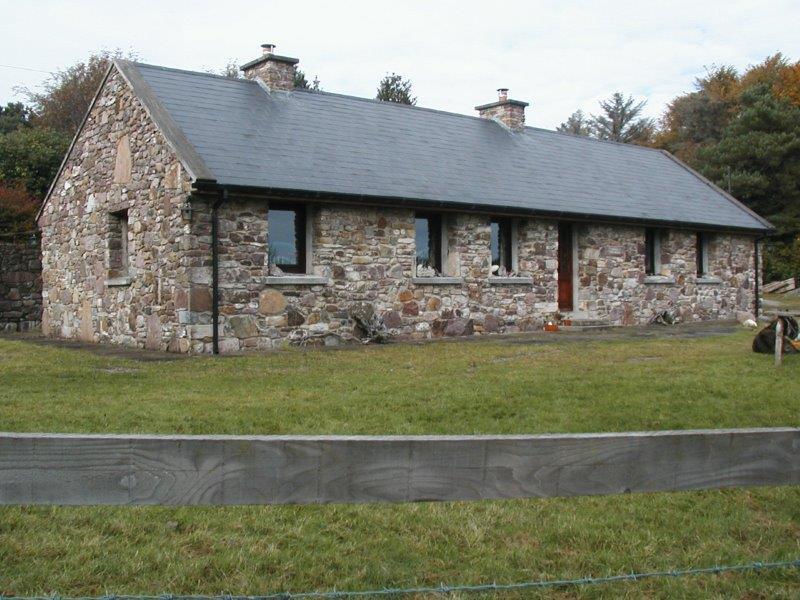 Irland Ferienhaus Treanlaur Cottage am See Lough Mask Irland